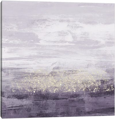 Amethyst Glitter II Canvas Art Print