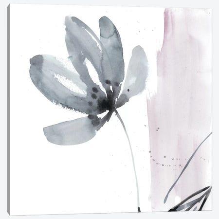 Blush Flower Splash I Canvas Print #JGO631} by Jennifer Goldberger Canvas Art