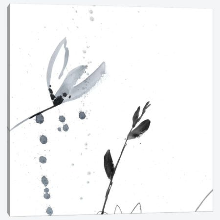 Blush Flower Splash II 3-Piece Canvas #JGO632} by Jennifer Goldberger Canvas Art