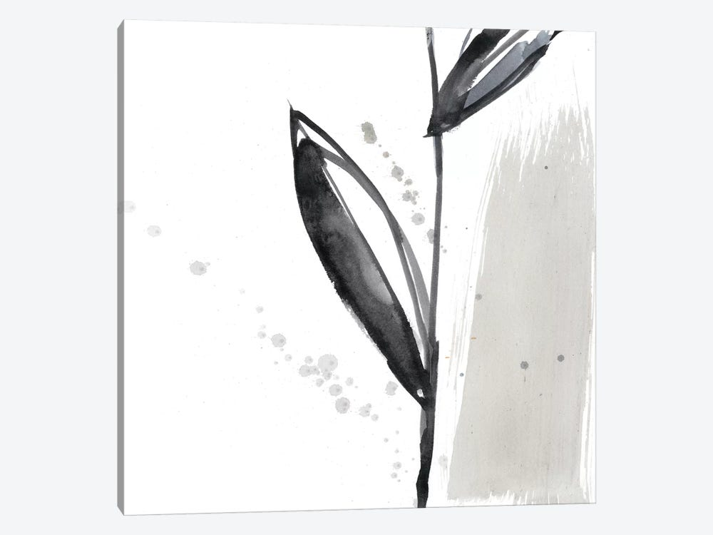 Blush Flower Splash IV by Jennifer Goldberger 1-piece Canvas Print