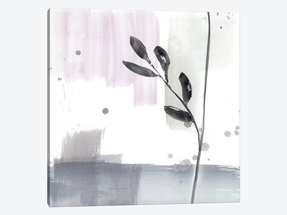 Blush Flower Splash VIII by Jennifer Goldberger 1-piece Art Print
