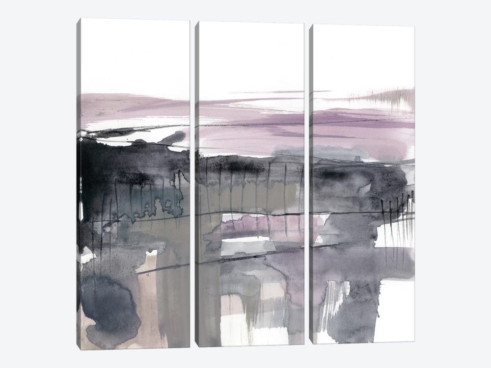 Blush Plane I by Jennifer Goldberger 3-piece Canvas Artwork