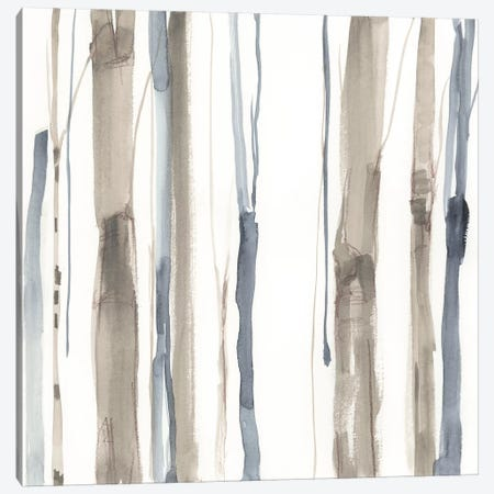 Duo Tone Trees I 3-Piece Canvas #JGO652} by Jennifer Goldberger Canvas Wall Art