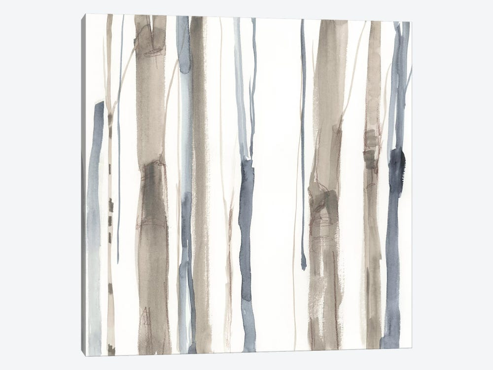 Duo Tone Trees I by Jennifer Goldberger 1-piece Canvas Print