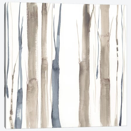 Duo Tone Trees II 3-Piece Canvas #JGO653} by Jennifer Goldberger Canvas Wall Art
