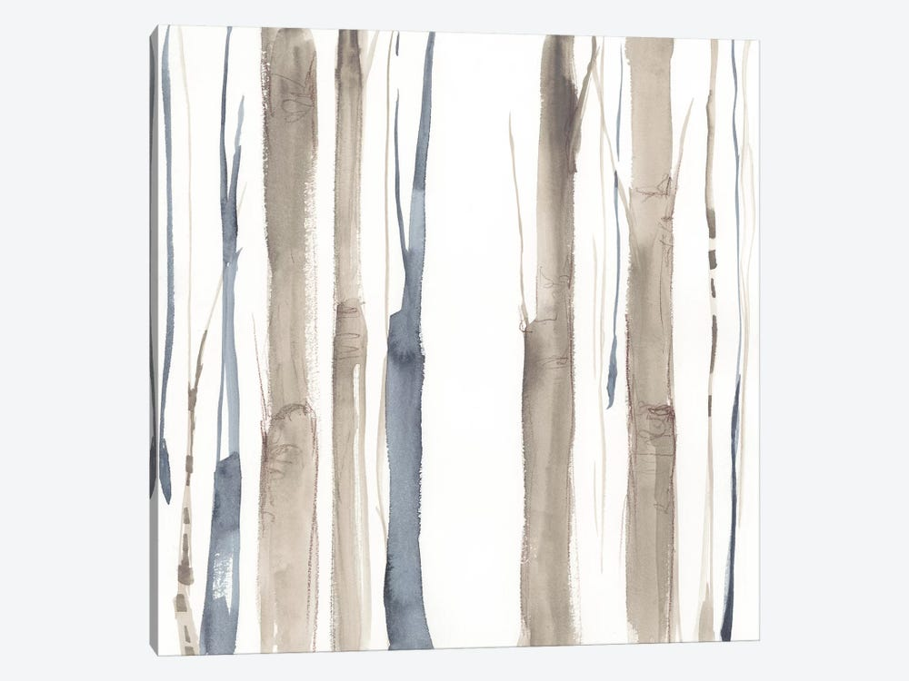 Duo Tone Trees II by Jennifer Goldberger 1-piece Canvas Wall Art