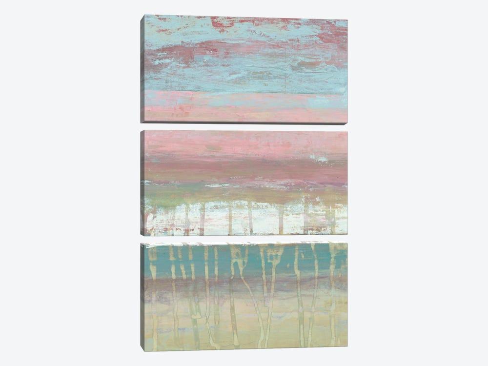 Dusted Horizon I by Jennifer Goldberger 3-piece Canvas Art Print