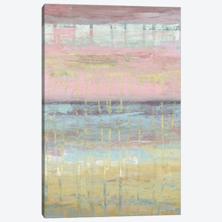 Dusted Horizon II 3-Piece Canvas #JGO655} by Jennifer Goldberger Art Print