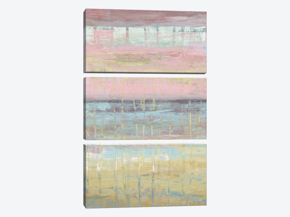 Dusted Horizon II by Jennifer Goldberger 3-piece Canvas Wall Art