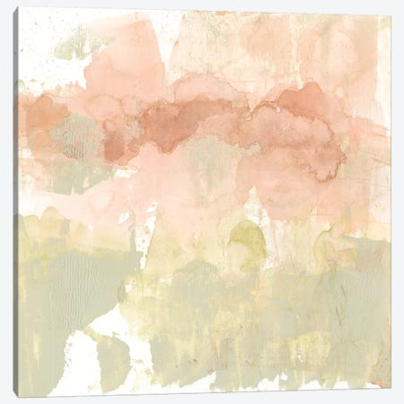 Dusty Blush & Olive I Canvas Print #JGO656} by Jennifer Goldberger Canvas Art Print
