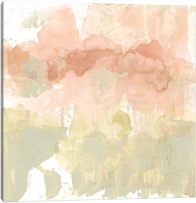 Dusty Blush & Olive I Canvas Art Print