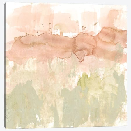 Dusty Blush & Olive II Canvas Print #JGO657} by Jennifer Goldberger Canvas Print