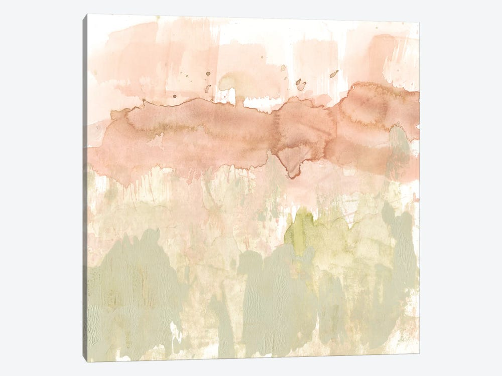 Dusty Blush & Olive II by Jennifer Goldberger 1-piece Canvas Wall Art