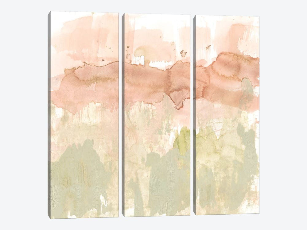 Dusty Blush & Olive II by Jennifer Goldberger 3-piece Canvas Wall Art