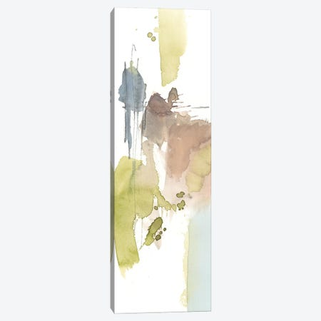 Dusty Splash I Canvas Print #JGO658} by Jennifer Goldberger Canvas Artwork
