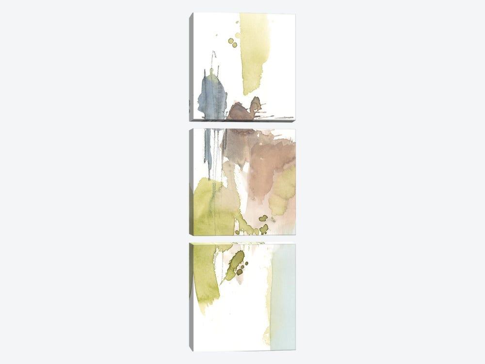 Dusty Splash I by Jennifer Goldberger 3-piece Canvas Art Print