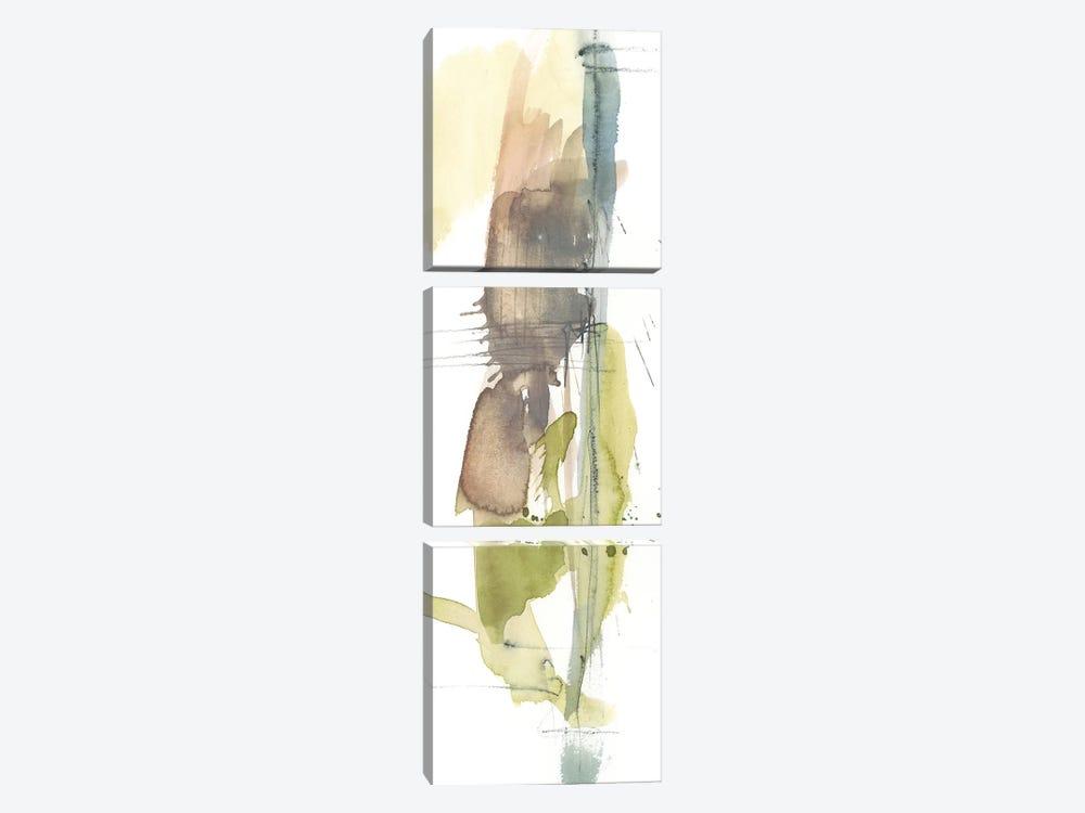Dusty Splash II by Jennifer Goldberger 3-piece Canvas Artwork