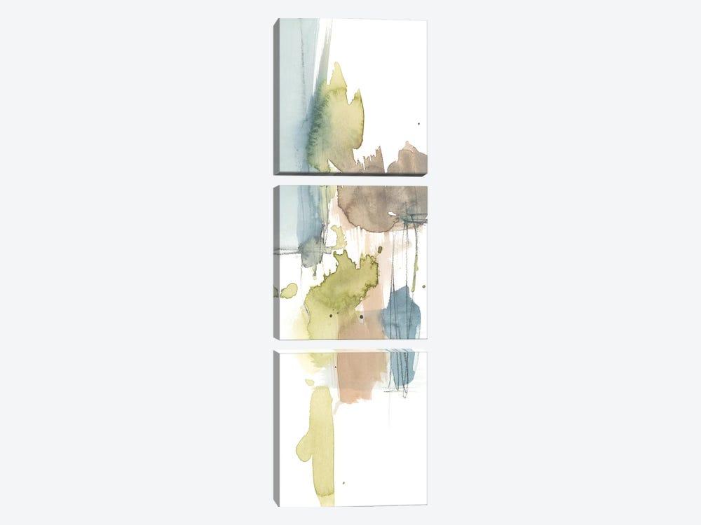 Dusty Splash III by Jennifer Goldberger 3-piece Canvas Art