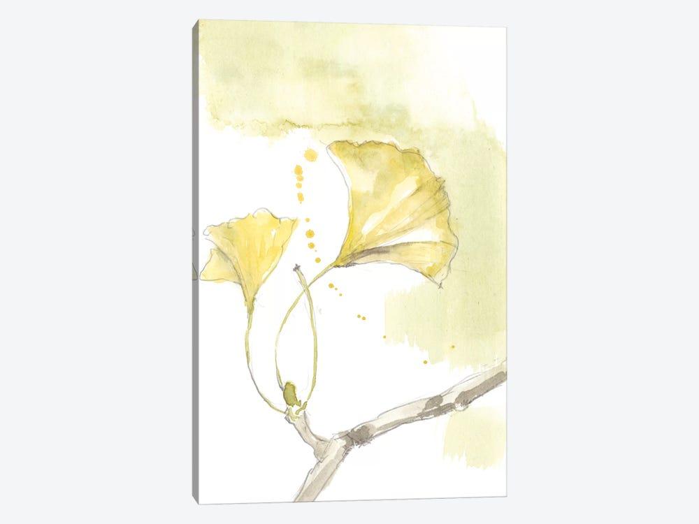 Ginkgo I by Jennifer Goldberger 1-piece Canvas Art Print