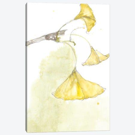 Ginkgo III 3-Piece Canvas #JGO663} by Jennifer Goldberger Canvas Print