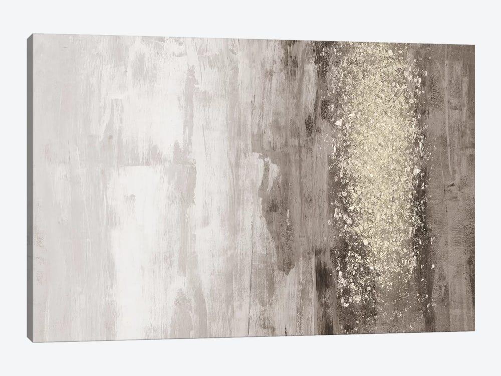 Glitter Rain I by Jennifer Goldberger 1-piece Canvas Art