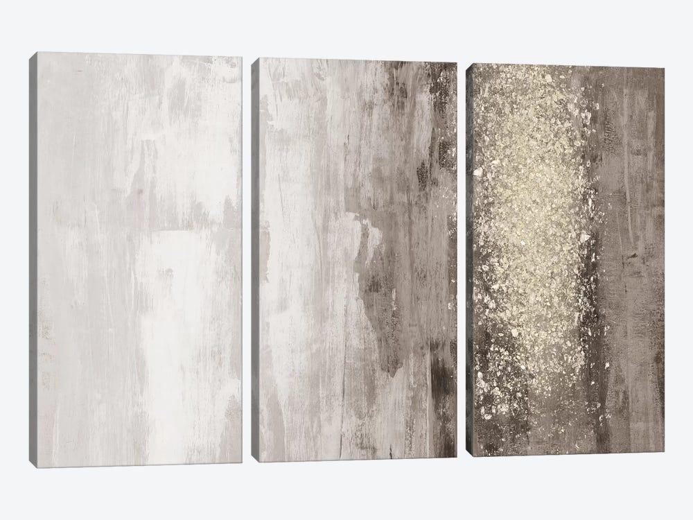 Glitter Rain I by Jennifer Goldberger 3-piece Canvas Art