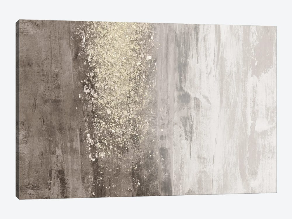 Glitter Rain II by Jennifer Goldberger 1-piece Art Print