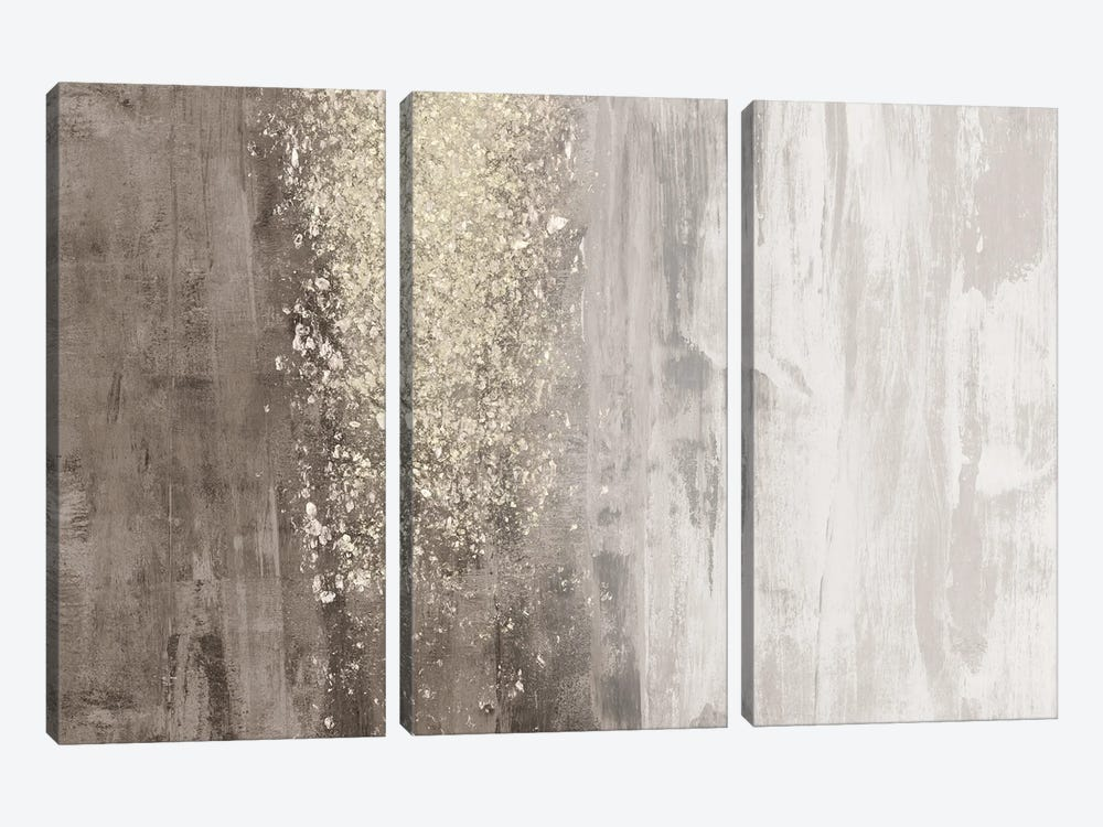 Glitter Rain II by Jennifer Goldberger 3-piece Canvas Art Print