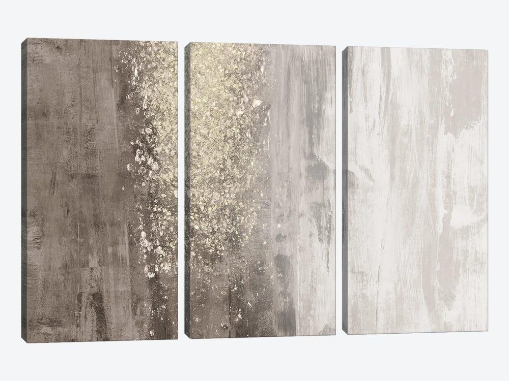 Glitter Rain II by Jennifer Goldberger 3-piece Canvas Art Print