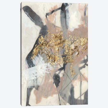 Golden Blush I Canvas Print #JGO668} by Jennifer Goldberger Canvas Art Print