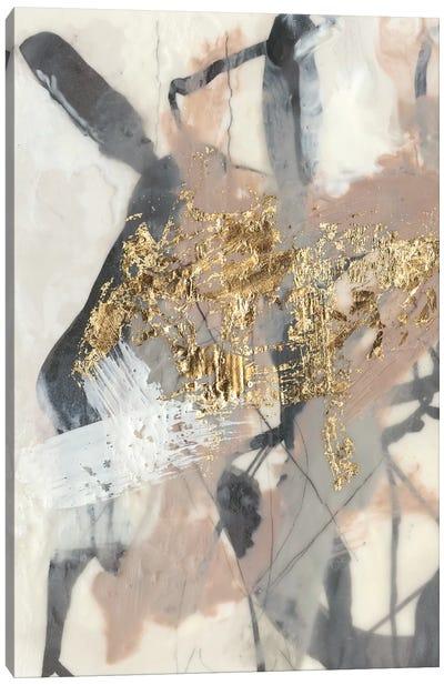 Golden Blush I Canvas Art Print