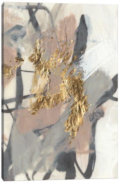 Golden Blush II Canvas Art Print