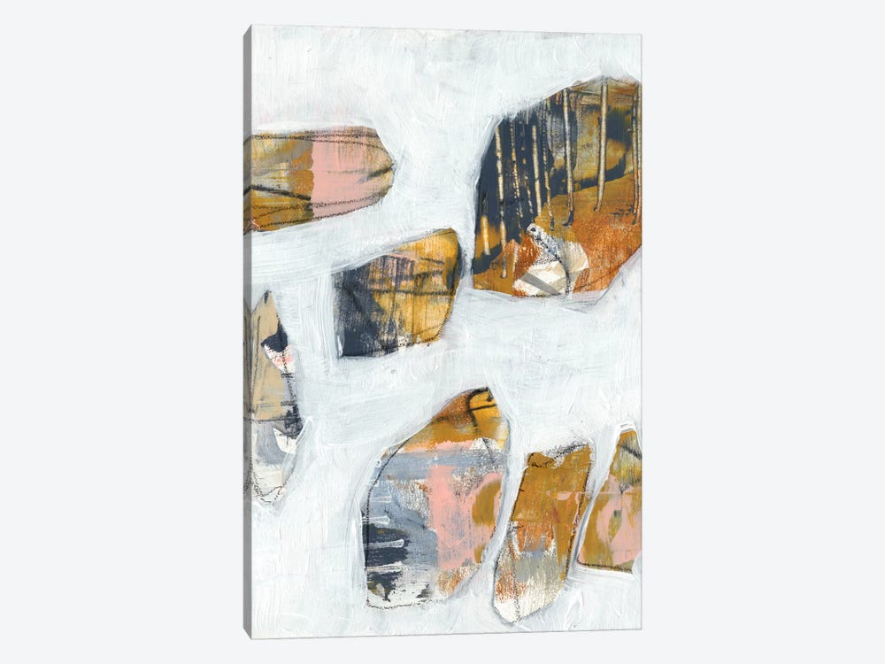 Inset I by Jennifer Goldberger 1-piece Canvas Print