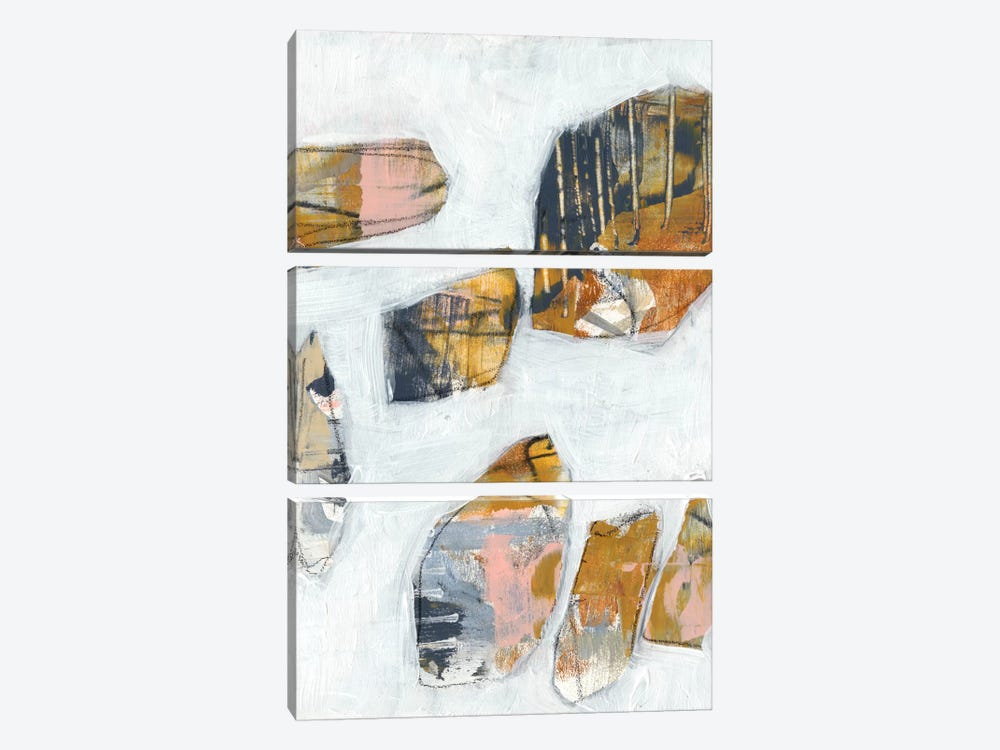 Inset I by Jennifer Goldberger 3-piece Canvas Print