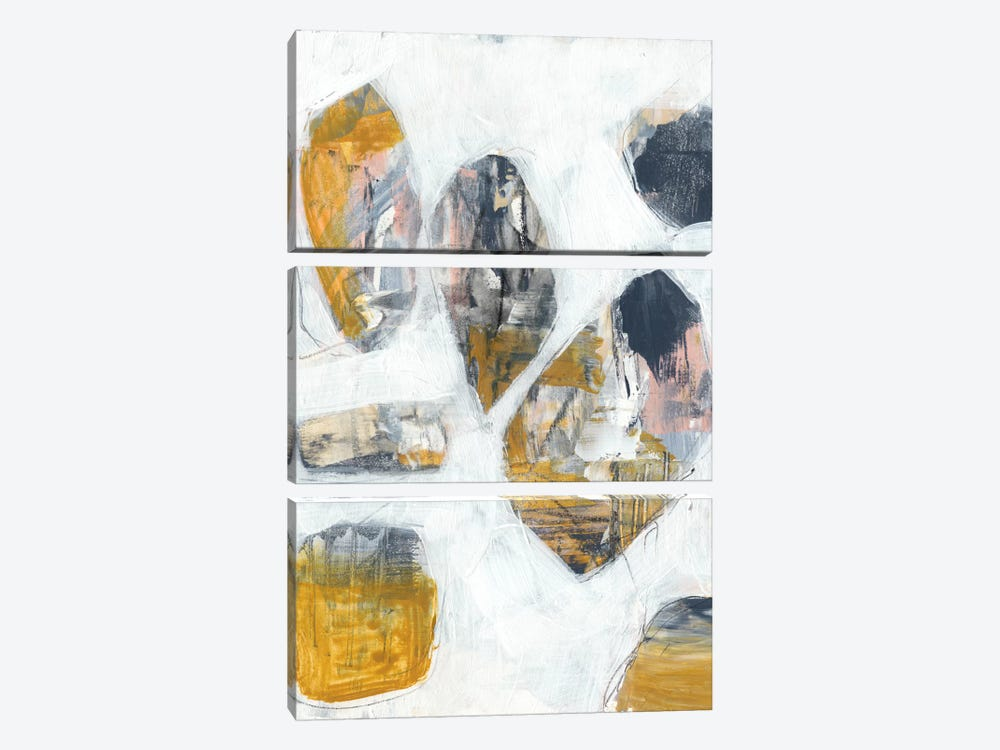 Inset II by Jennifer Goldberger 3-piece Canvas Artwork