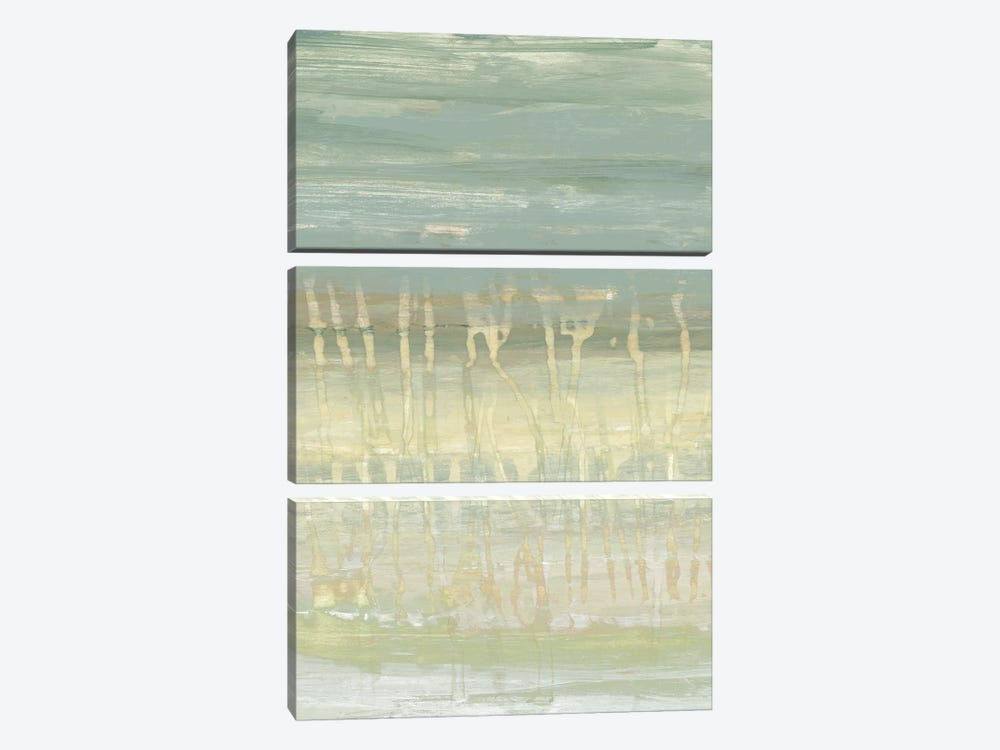 Muted Horizon I by Jennifer Goldberger 3-piece Canvas Art Print