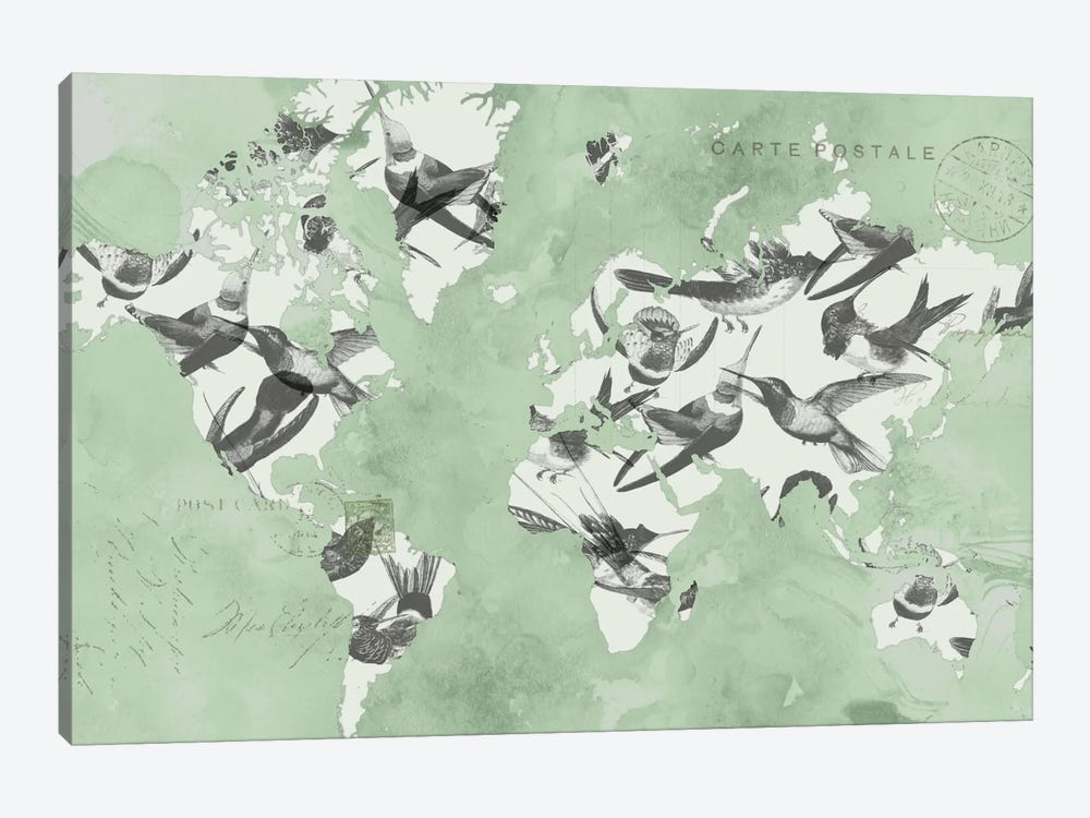 Migration Of Birds by Jennifer Goldberger 1-piece Canvas Art Print