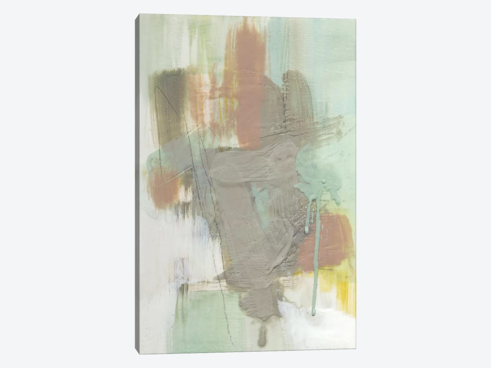 Retro Splash III by Jennifer Goldberger 1-piece Canvas Print