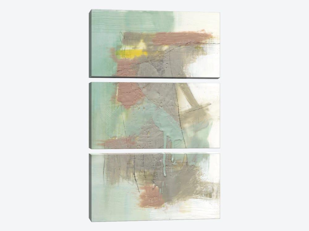 Retro Splash IV by Jennifer Goldberger 3-piece Canvas Artwork