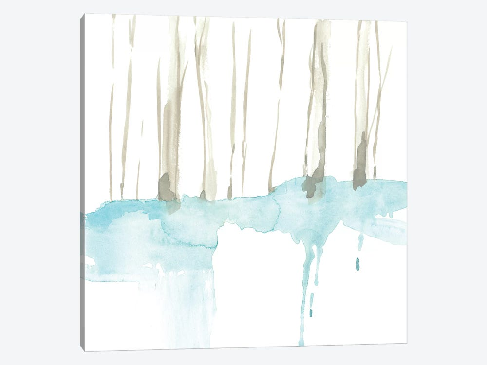 Snow Line II by Jennifer Goldberger 1-piece Canvas Wall Art