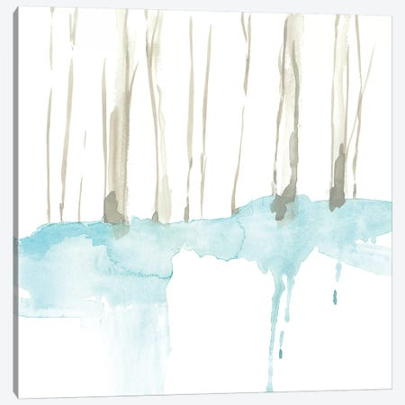 Snow Line II 3-Piece Canvas #JGO695} by Jennifer Goldberger Canvas Art Print