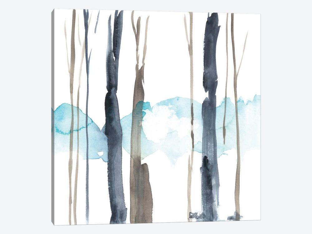 Snow Line IV by Jennifer Goldberger 1-piece Canvas Art