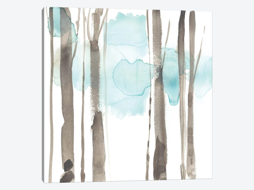 Snow Line IX by Jennifer Goldberger 1-piece Canvas Art Print