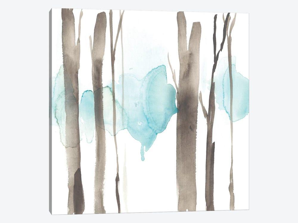 Snow Line V by Jennifer Goldberger 1-piece Canvas Artwork