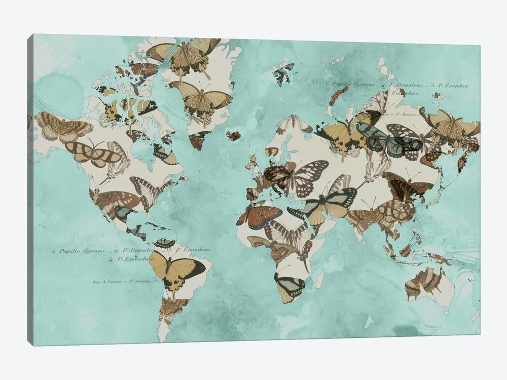 Migration Of Butterflies by Jennifer Goldberger 1-piece Canvas Artwork