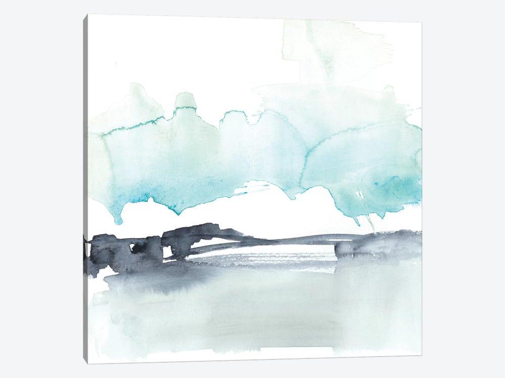 Snow Line VI by Jennifer Goldberger 1-piece Canvas Art Print