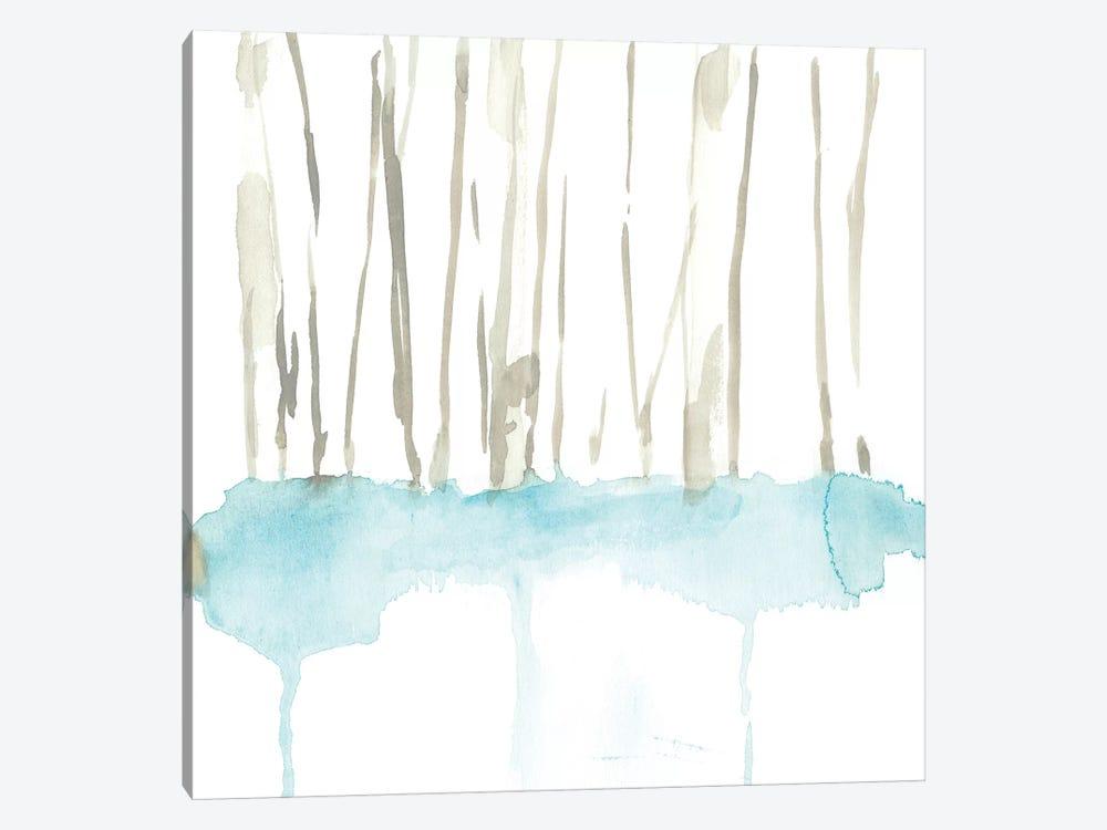 Snow Line VII by Jennifer Goldberger 1-piece Canvas Wall Art