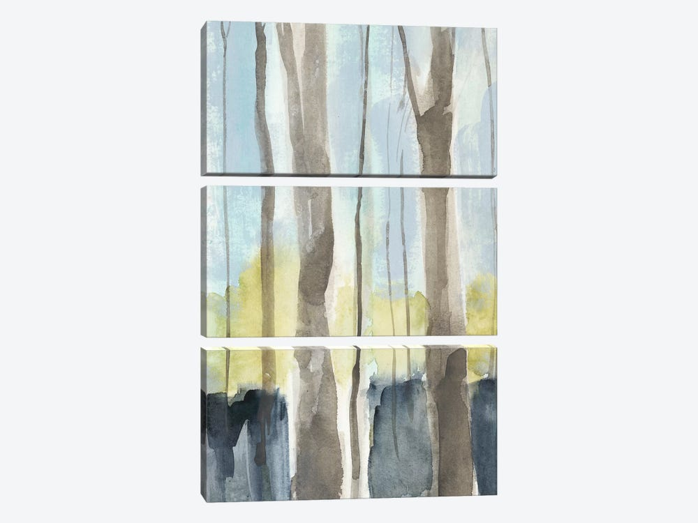 Treeline I by Jennifer Goldberger 3-piece Canvas Art