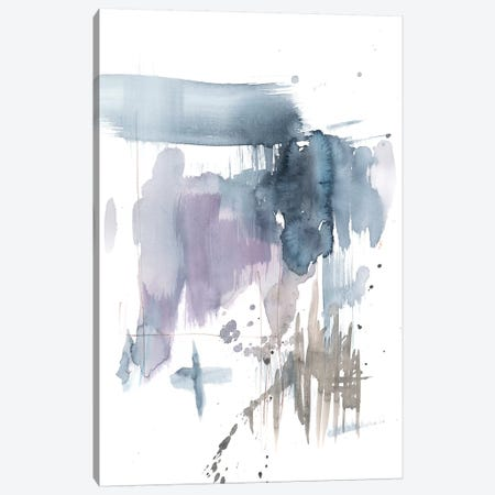 Violet & Paynes Splash I Canvas Print #JGO709} by Jennifer Goldberger Canvas Wall Art