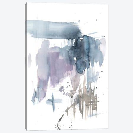 Violet & Paynes Splash I Canvas Print #JGO709} by Jennifer Goldberger Canvas Wall Art